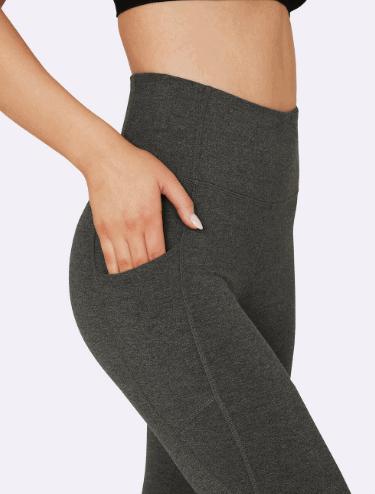 Active Blended High-Waisted Full Leggings with Pocket